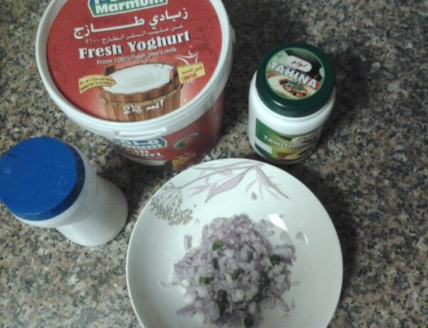 How to: A quick easy dip for dinner (no cooking)..