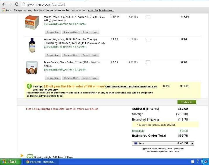 How to: Purchase from iHerb!