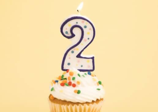 Second Blog Anniversary plus giveaway!!