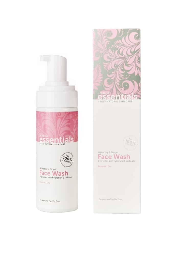 New White Lily & Ginger Face Wash from Herbline Essentials!