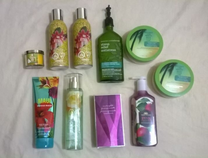 Haul from Bath and Body Works!