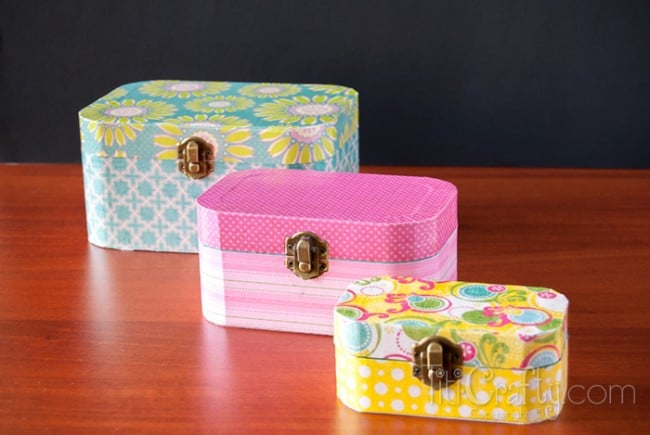 Cute And Simple Mod Podge Wooden Jewelry Box Tutorial 650x435 1