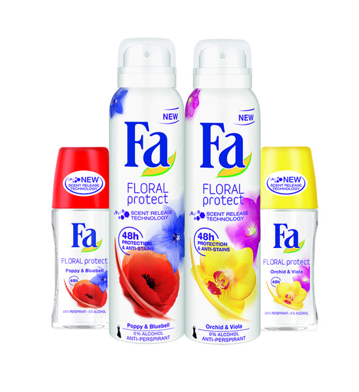 Discover summer's new floral fabulous scents from Fa!