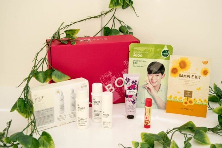 Introducing THEFACESHOP: An All-Natural Beauty Kit from GlamBox!