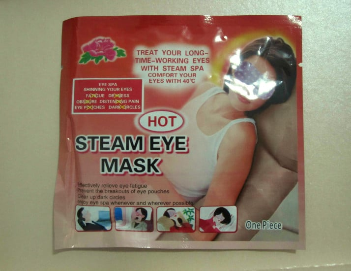 Review : Hot Steam Eye Mask!