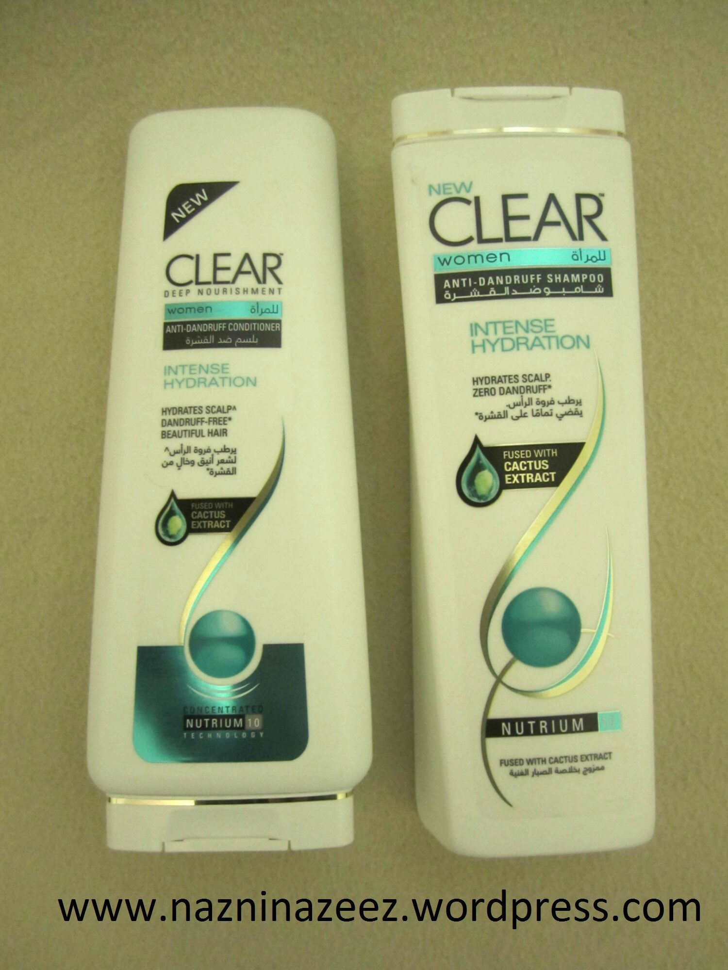 Review : Clear Shampoo & Conditioner!