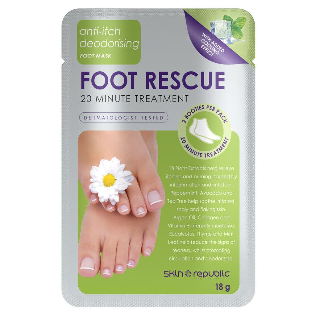 Super soft hands and feet with Skin Republics masks!