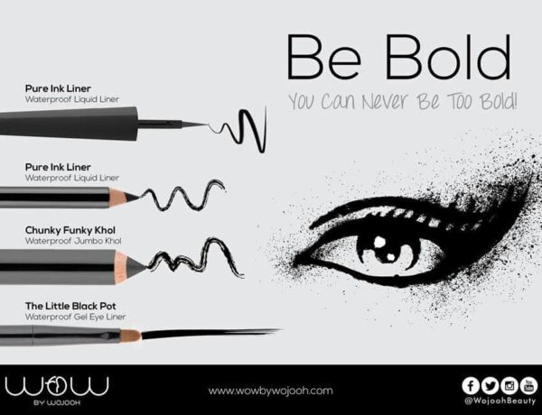 BE BOLD with Wow by Wojooh!