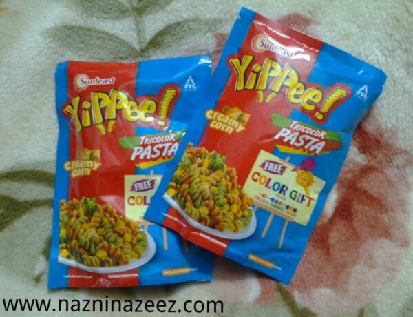 Review : Sunfeast Yippee Tricolor pasta!