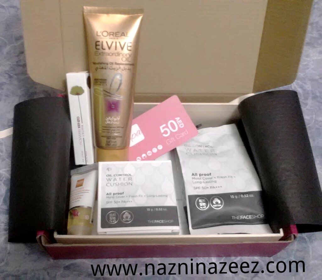 Review : August Glambox 2015!