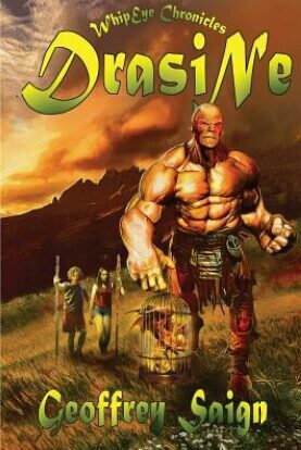 Book Review and Giveaway : Drasine by Geoffrey Saign!