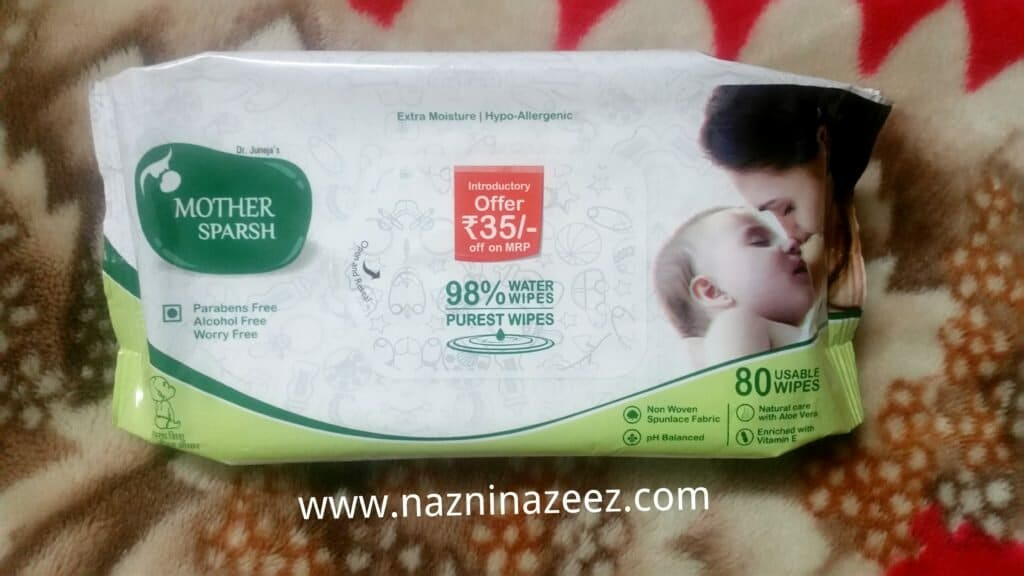 Review : Mother Sparsh worry free baby products!