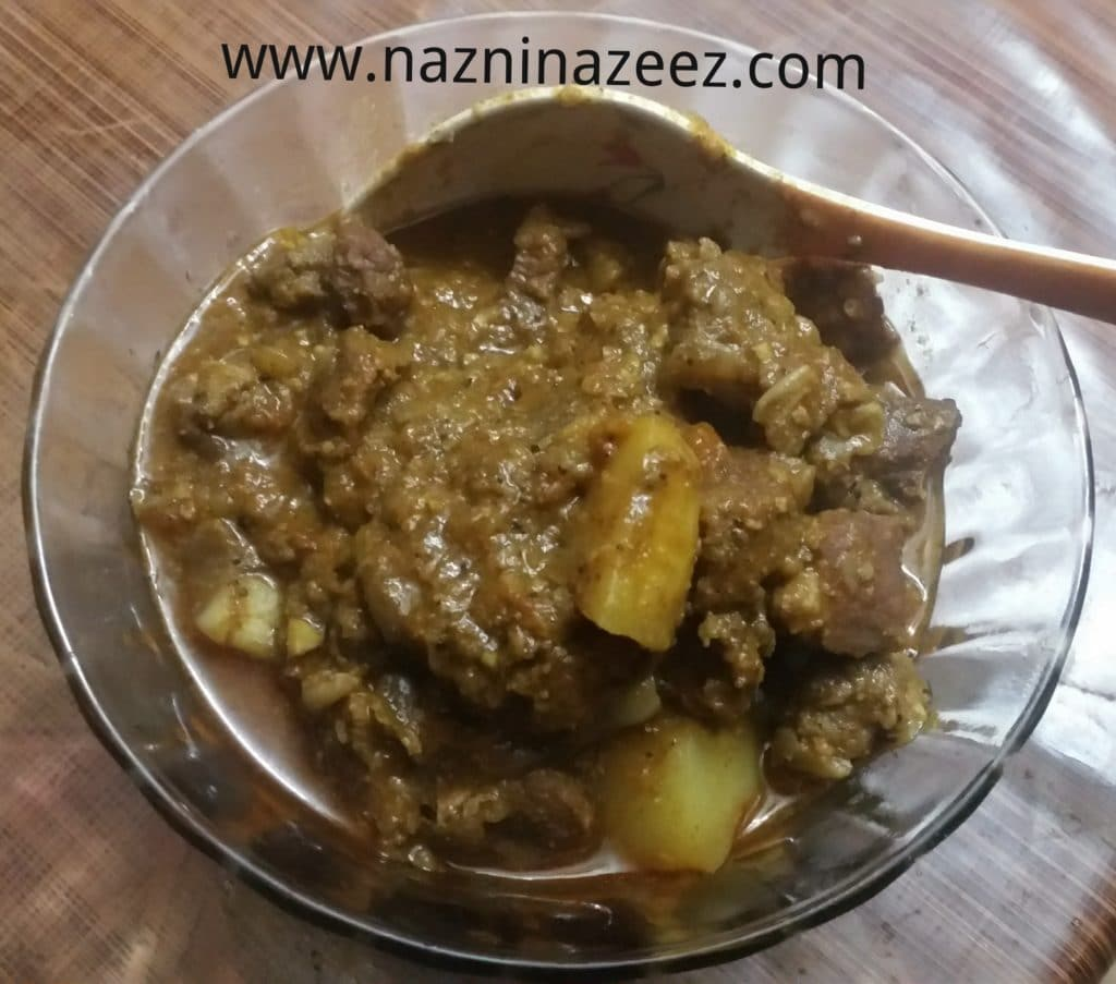 How to : Easy Kerala style Beef curry!