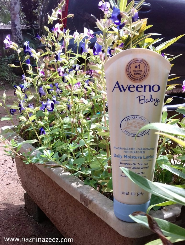 Review : Aveeno Baby Daily Moisturizing Lotion + Exclusive discount code!